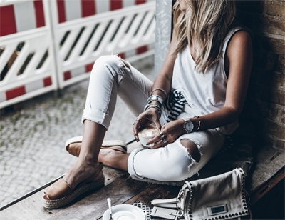 Get the look: Clean & Casual