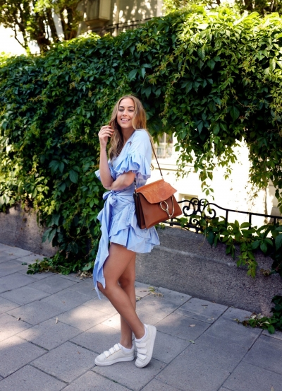 Get the look: Wrap dress