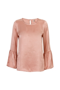 Blouse satin roze Miss Etam