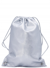 ONLY Metallic Gym Tas Dames Grijs