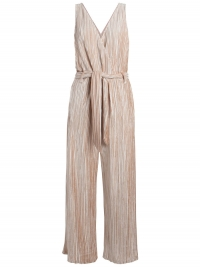 Pieces Geplooide Velours Jumpsuit