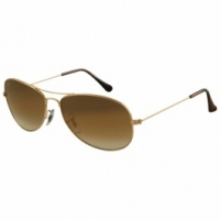 Ray Ban 3362, 001/51 Double + gradient faded brown (59/14 - 135)