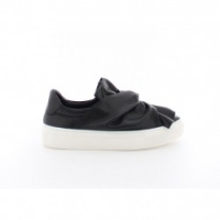 Bronx Black Leather Sneaker