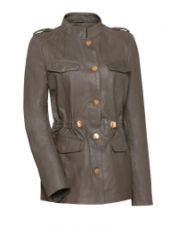 Jas - Cruise Leather Jacket Armee