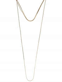 PIECES, Dames Ketting, goud