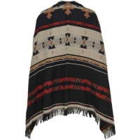 Sjaals Only  ADONA WEAVED PONCHO