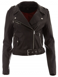 ONLY ONLY Jack onlLuna Crop Faux Leather Biker OTW NOOS 15141020