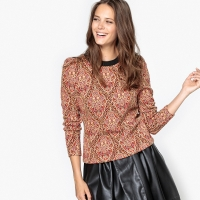 Sweater in jacquard