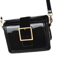 Female Glossy Messenger Bag