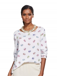 Shirt Alba Moda wit/multicolor