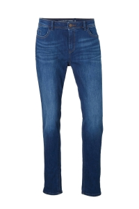 tapered fit jeans met hoge taille