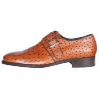 O'QUIREY LONDON - OSTRICH COGNAC