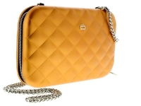 Ogon Clutch Quilted Lady Bag Orange