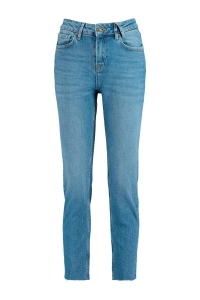 mom fit jeans met hoge taille July